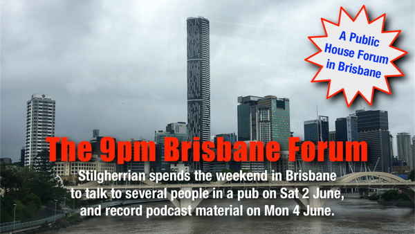 The 9pm Brisbane Forum: Click for Pozible campaign