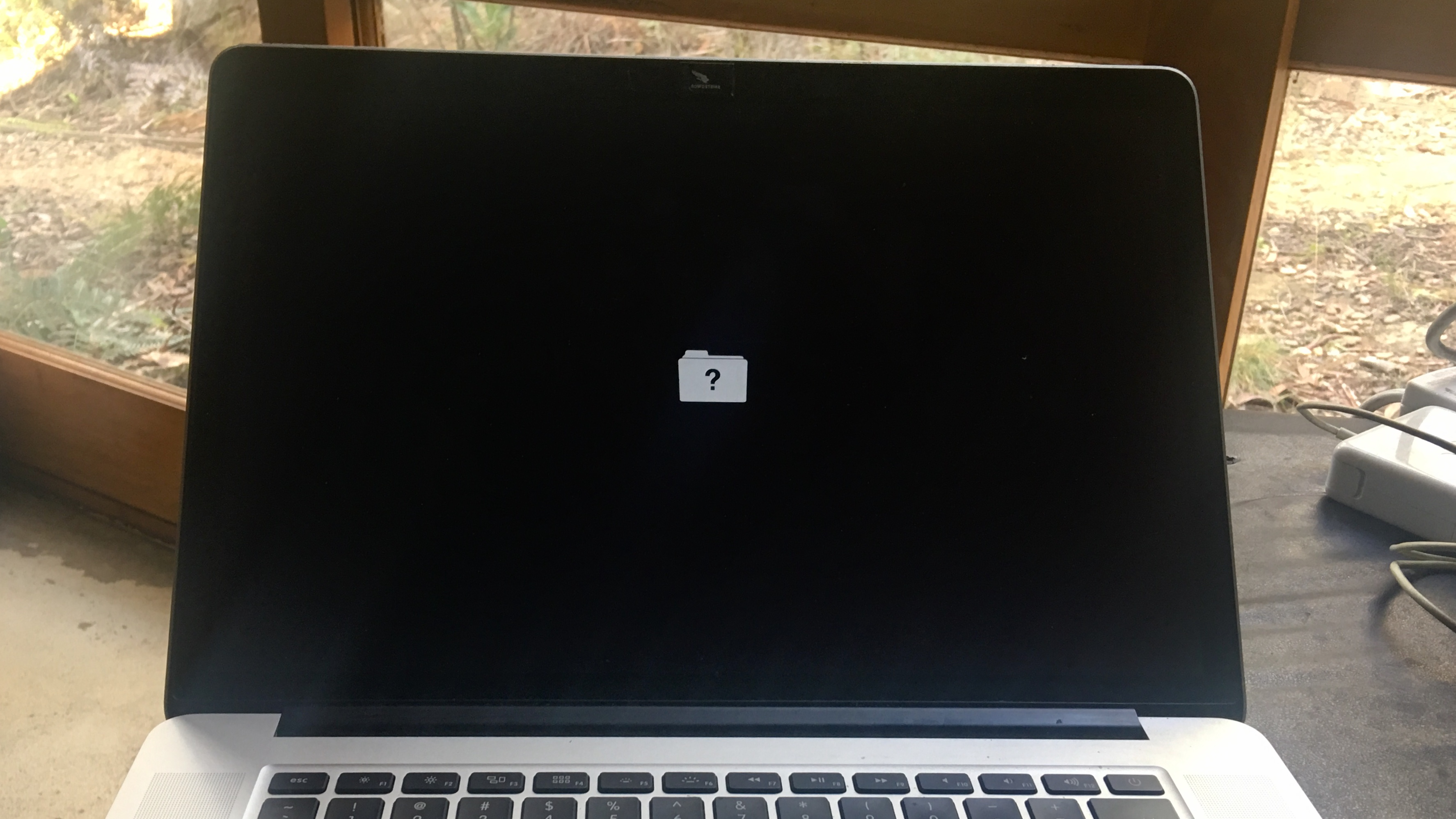 Dead macOS screen
