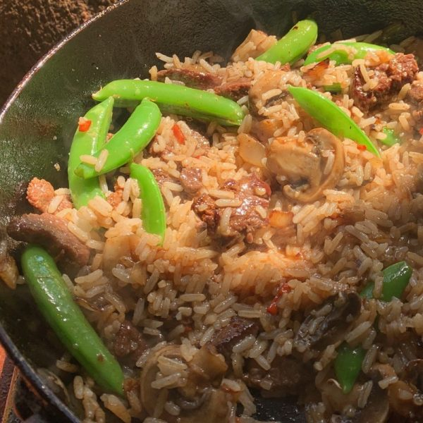 Kangaroo Fried Rice