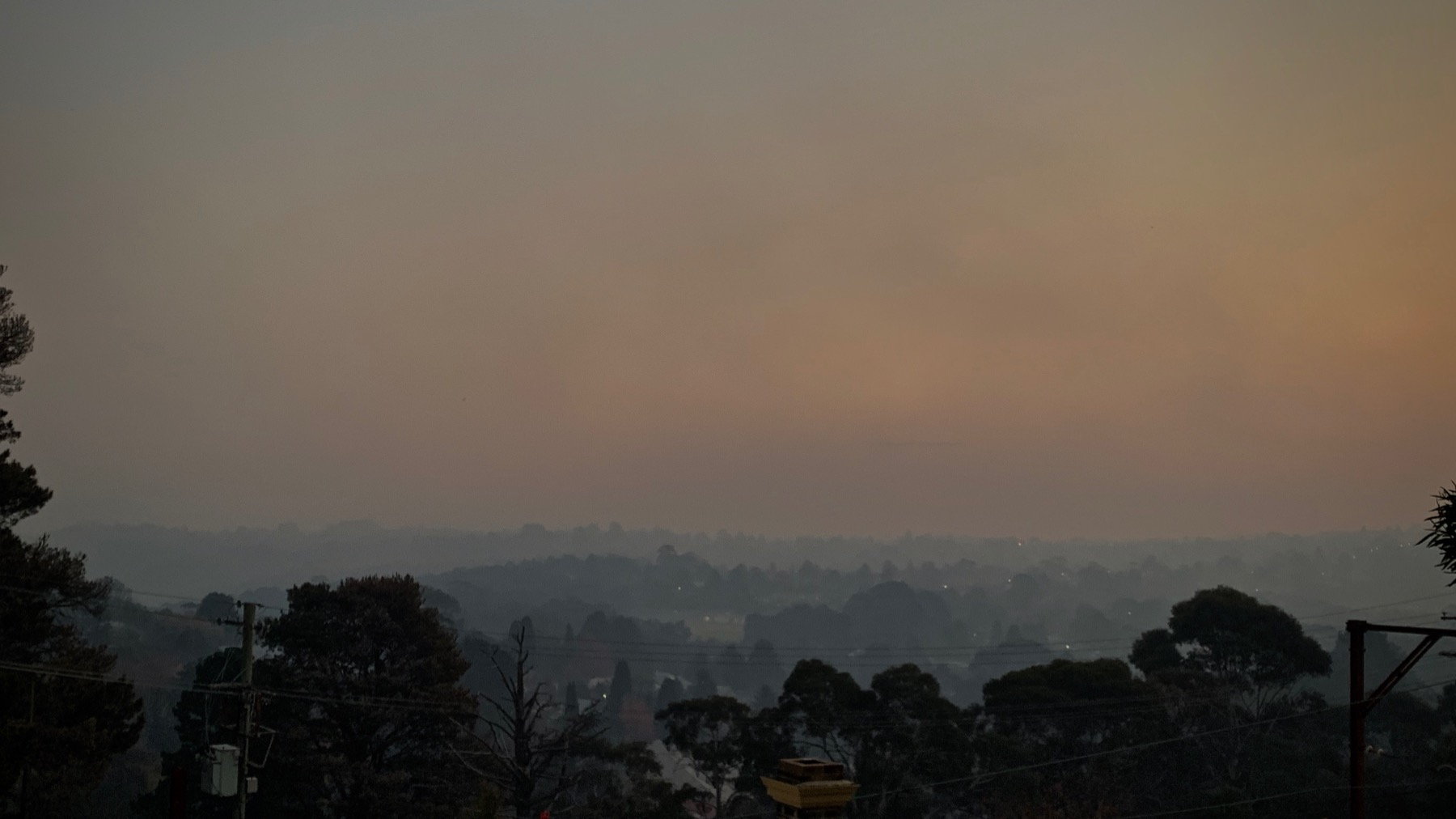 Leura in a Smoky Dusk