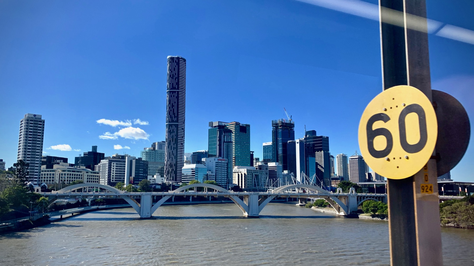 Crossing the Brisbane River