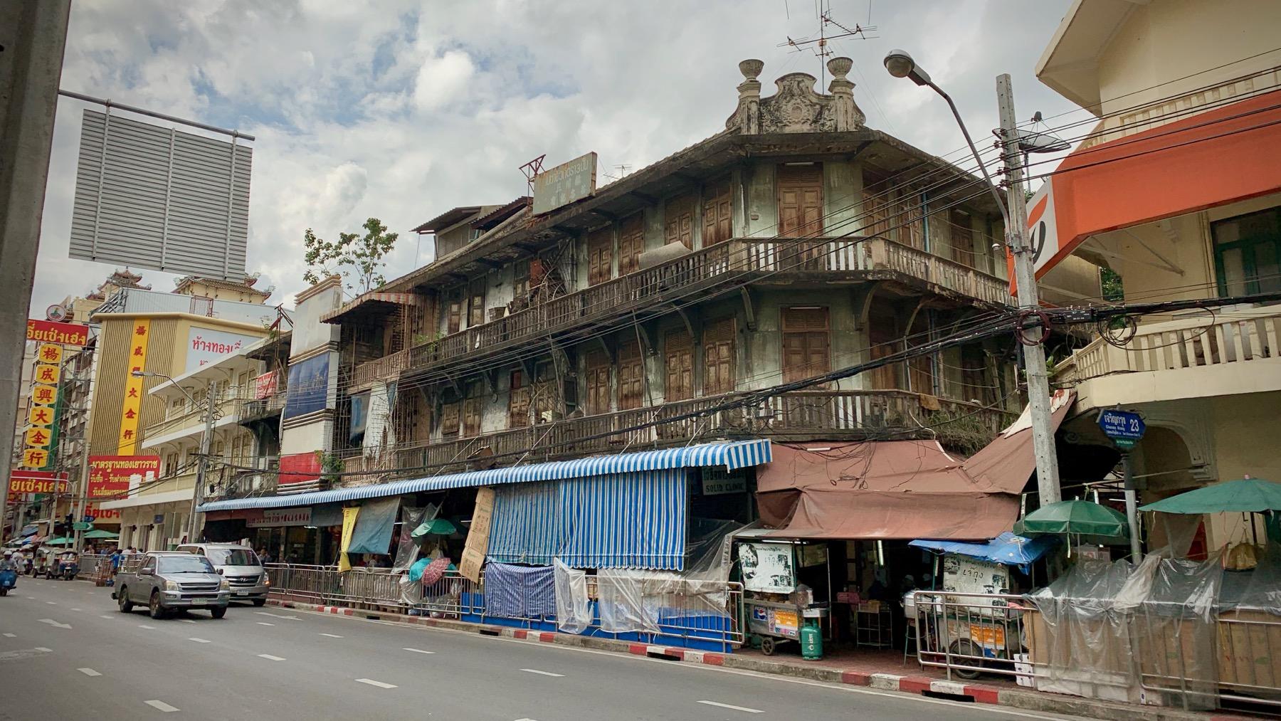 Urban Decay in Bangkok's Chinatown