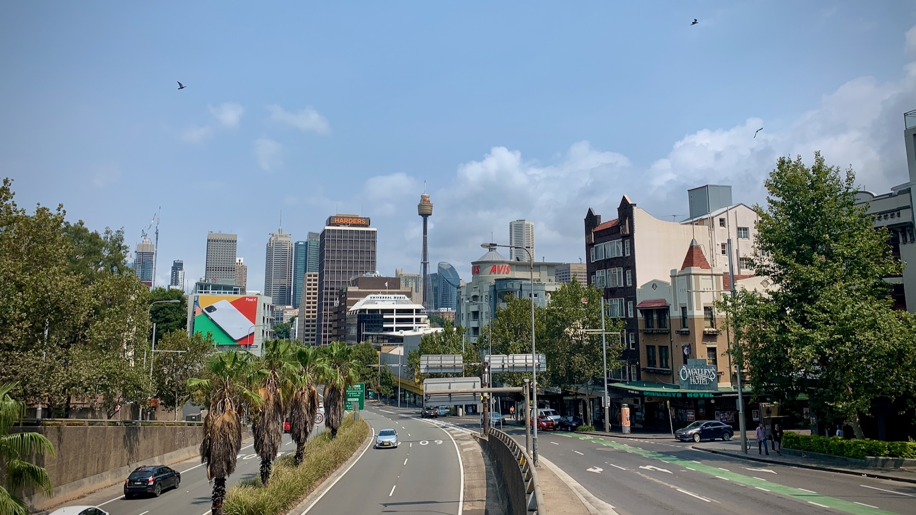 Sydney from Kings Cross