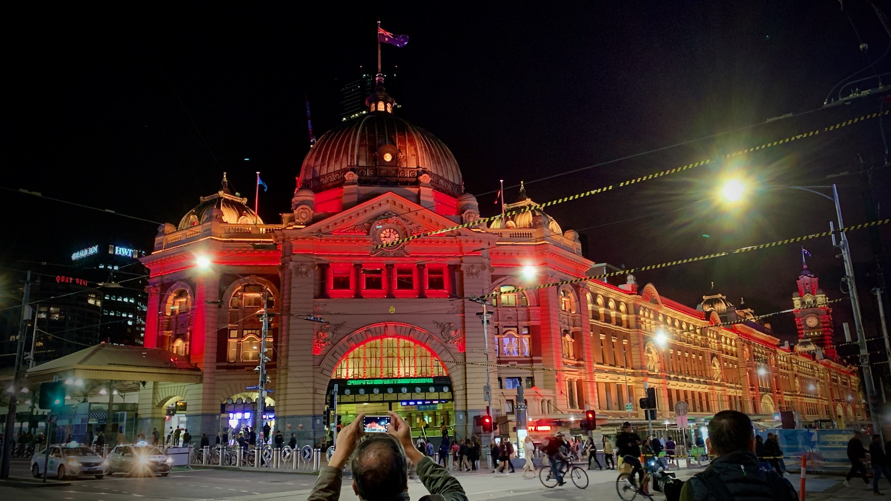 Flinders Street Station for China