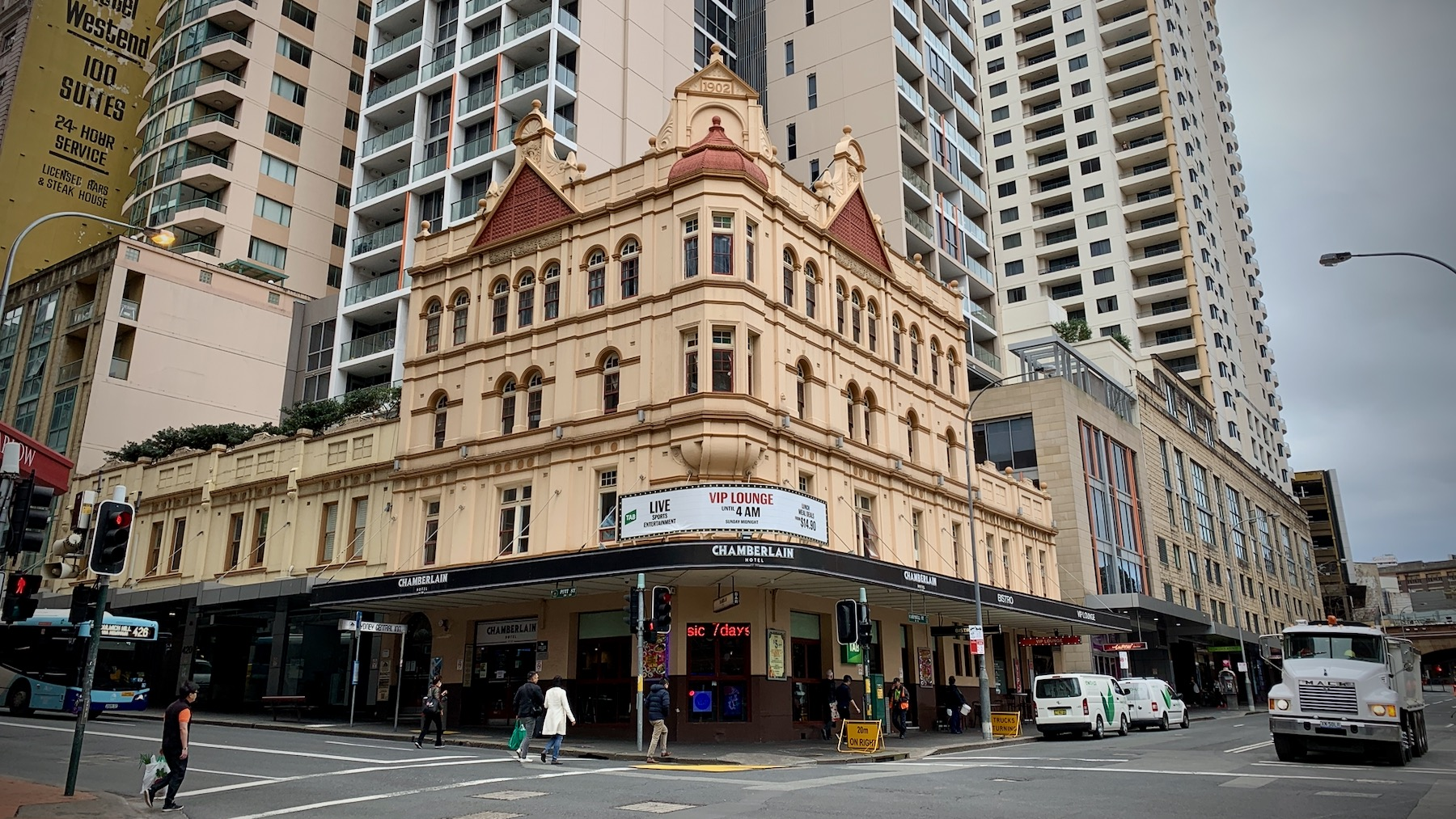 Chamberlain Hotel
