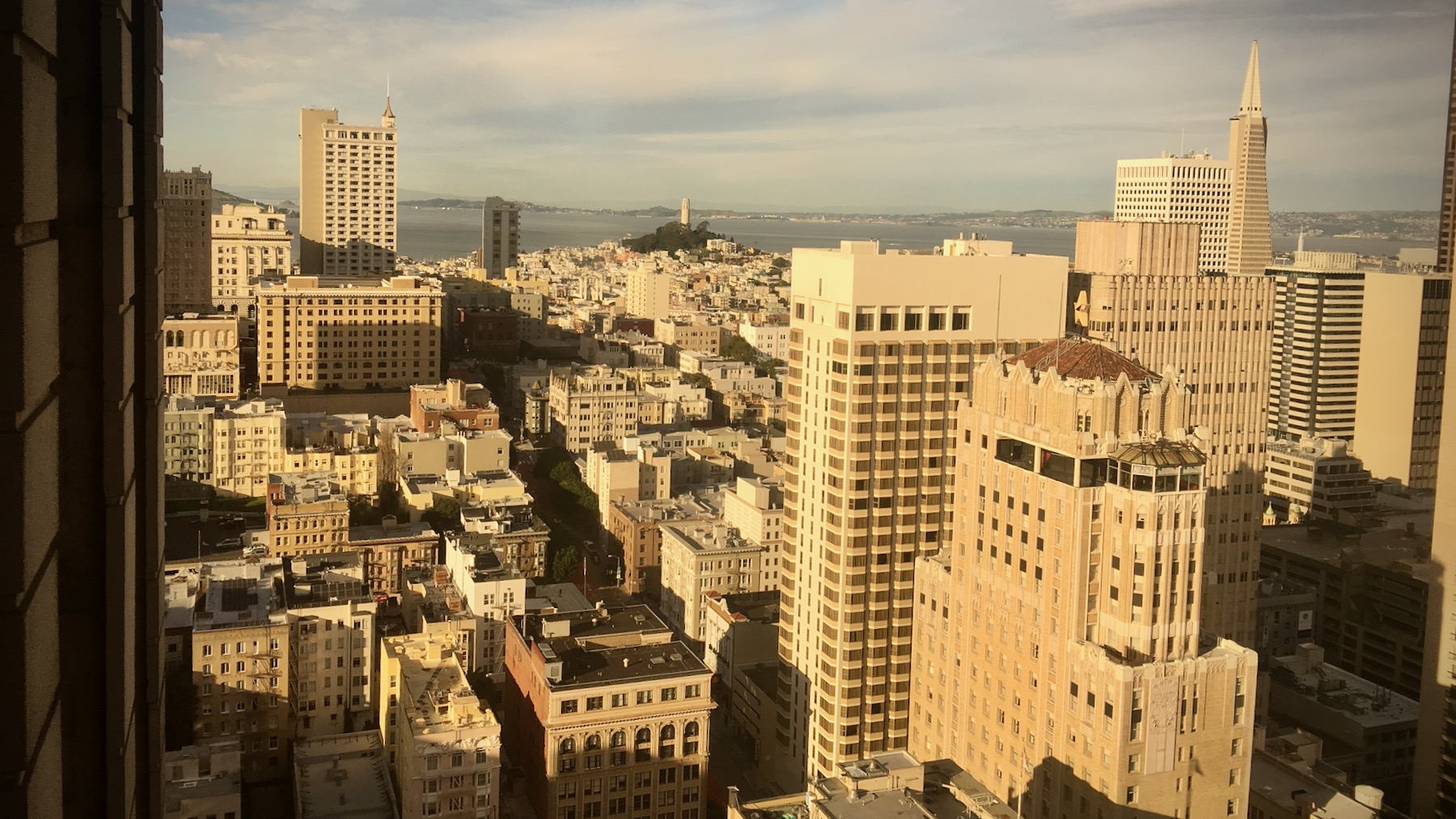 View over San Francisco 2017